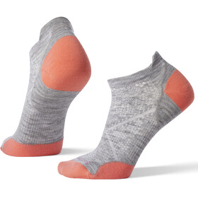 Smartwool PhD Run Ultra Light Micro Calcetines Mujer, light gray